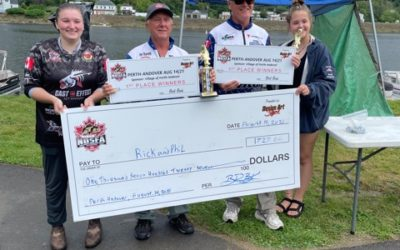 Barrett and Greene Catch Monster Bag to Win in Perth-Andover